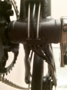 Bottom Bracket Cable Housing